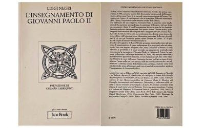 L'insegnamento di Giovanni Paolo II