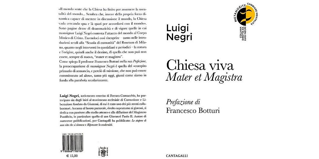 Chiesa Viva - Lugi Negri - ed. Cantagalli