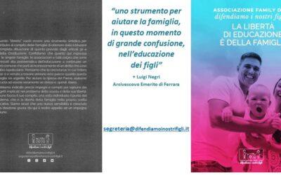 La Libertà dell'Educazione è della Famiglia