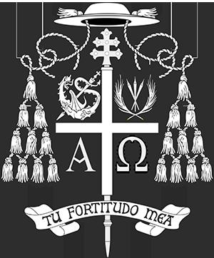 Stemma araldico Mons. Luigi Negri - Tu Fortitudo Mea